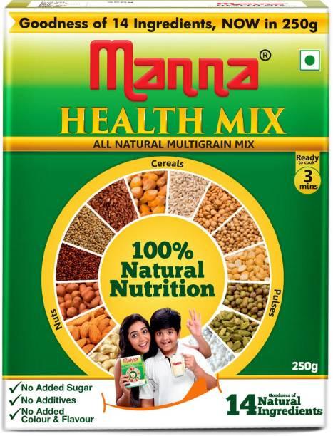 Manna Millet Health Mix 250g   Sathu Maavu for Babies   100% Natural Millet Multigrain Nutrition Drink for Kids   14 Natural Ingredients 250 g