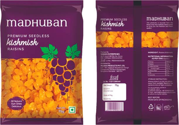 Madhuban Premium Seedless Raisins