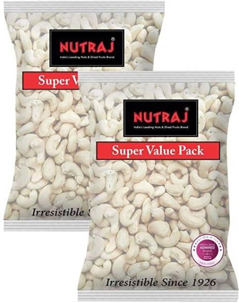 Nutraj Cashew Nuts Kernels (Kaju) W450 (400g X 2) Cashews