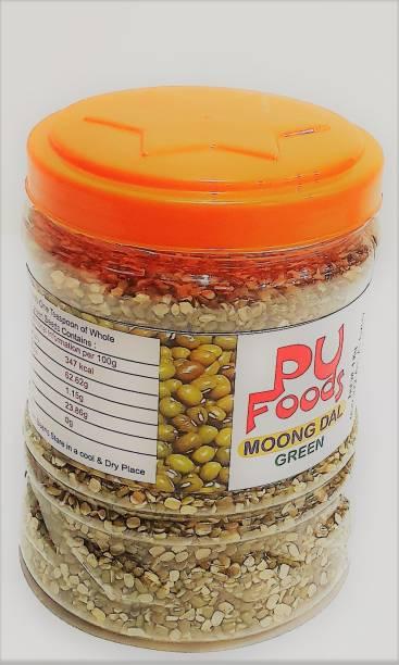 PU FOODS Green Moong Dal (Split)