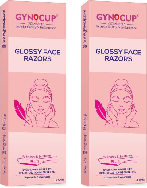 Gynocup Glossy Face Razor For Women