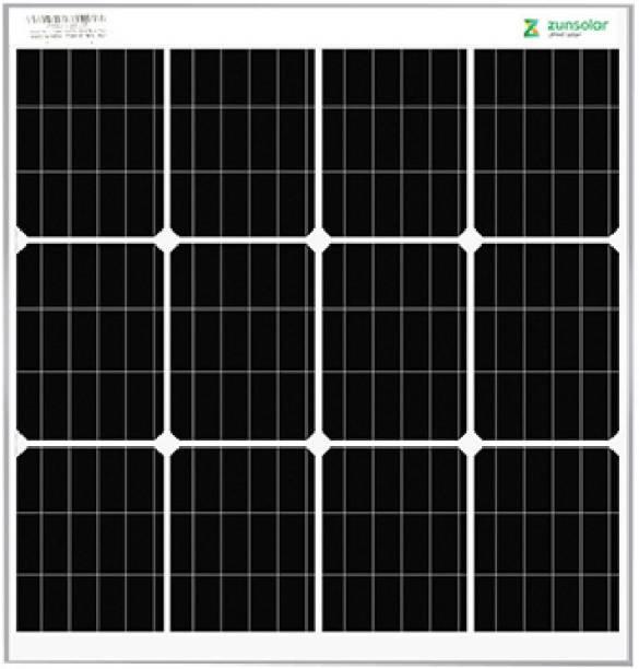 ZunSolar 50 Watt 12 Volt Mono PERC Solar Panel