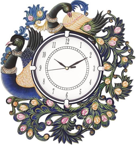 CIRCADIAN Analog 34 cm X 36 cm Wall Clock