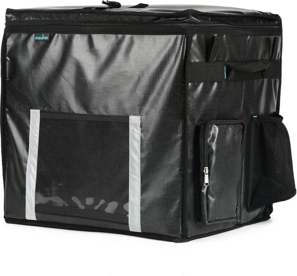 INSULAR Foldable Multipurpose Delivery Backpack - Black (OS) 67 L Backpack
