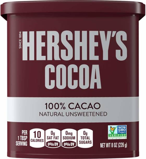 HERSHEY'S Cocoa Powder 100% Cacao Natural Unsweetened ( Imported made in America ) Cocoa Powder