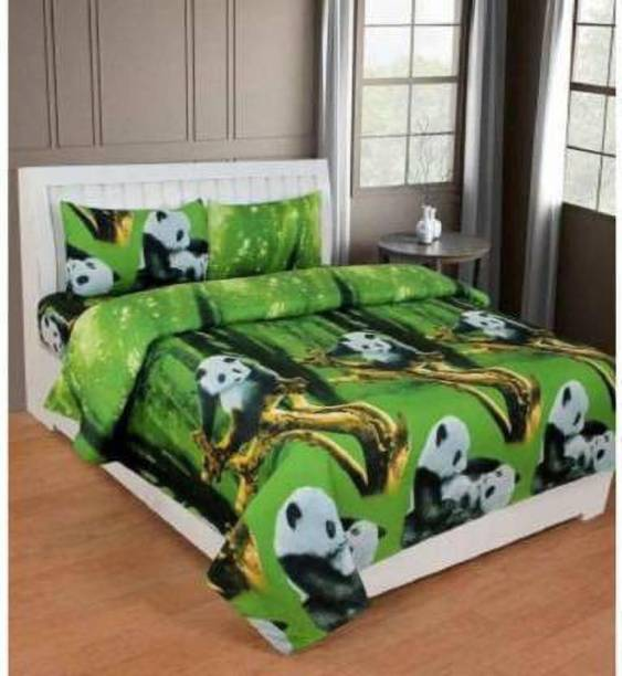 SUJATA 150 TC Polycotton Double Cartoon Bedsheet