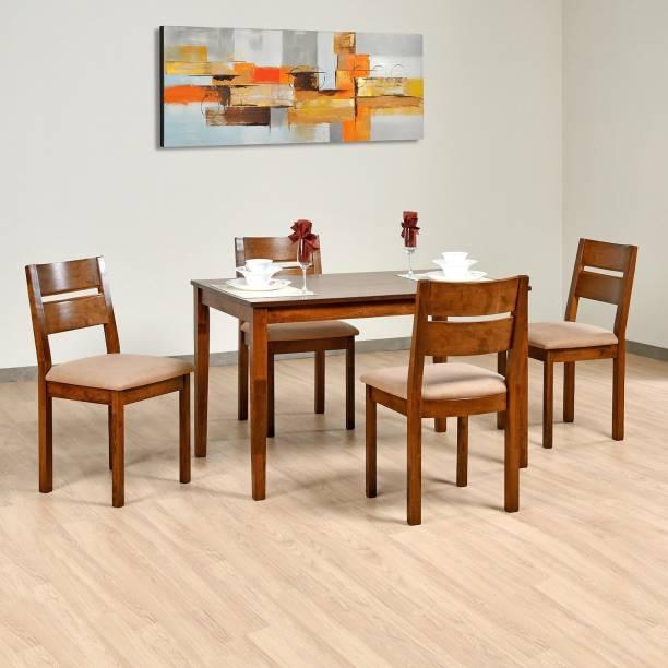 Nilkamal Envy Solid Wood 4 Seater Dining Set