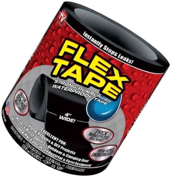 ecnirp basana Plastic Polymer Tape Repairing Stop Leak Tape Super Strong Flex Leakage Repair Waterproof Tape 14 cm Anti Slip Tape