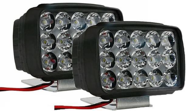Kanak LED Fog Light for Bajaj, KTM, Hero, Honda, Hyundai, TVS, Universal For Bike, Universal For Car Apache RTR 150, Apache RTR 200, Avenger 200, Bullet 350, Duke 200, Duke 390, FZ, Splendor, Platina, Pulsar 150
