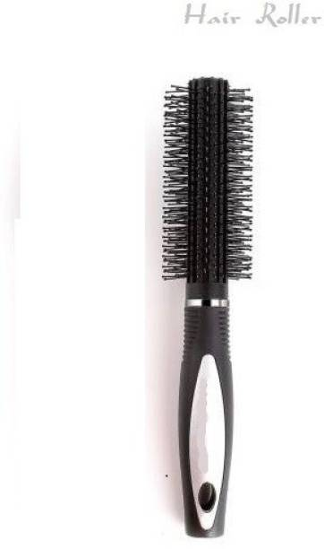 J & F Round Rolling Curling Comb Styling Hair Brush Tool For Long And Short Hair