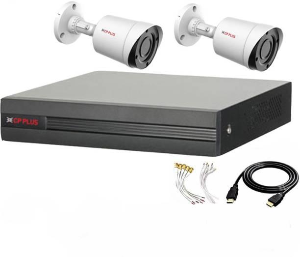 CP PLUS 4 Channal HD DVR 1080p 1Pcs,Outdoor Camera 2.4 MP 2Pcs,HDMI cable 1Pcs,Bnc & Dc connectors,combo set Security Camera