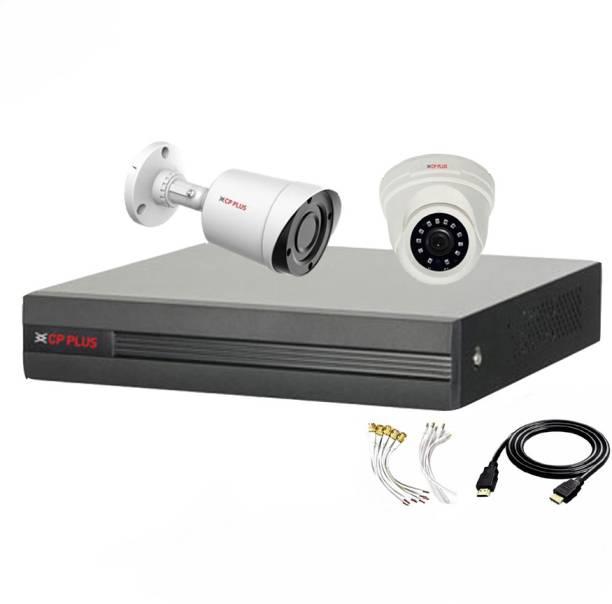 CP PLUS 4 Channal HD DVR 1080p 1Pcs,Outdoor Camera 2.4 MP 1Pcs,Indoor Camera 2.4 MP 1Pcs,HDMI cable 1Pcs,Bnc & Dc connectors,combo set Security Camera