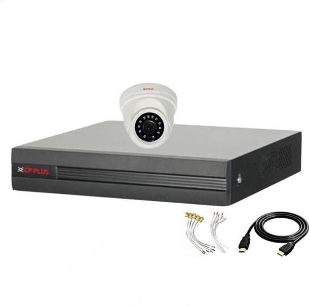 CP PLUS 4 Channal HD DVR 1080p 1Pcs,Indoor Camera 2.4 MP 1Pcs,HDMI cable 1Pcs,Bnc & Dc connectors,combo set Security Camera