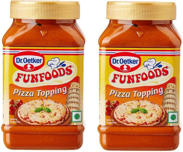 FUN FOODS Pizza Topping 325 Gram Pack Of 2 650 g