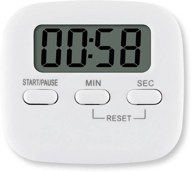 VARNITYA Digital Timer With Loud Alarm, Magnetic Back And Stand For All Purposes Digital Kitchen Timer