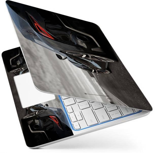 POINT ART HQ Laptop Skin Full Panel Decal Sticker Glossy Vinyl Fits Size Bubble Free – Black Jaguar Vinyl Laptop Decal 15.6