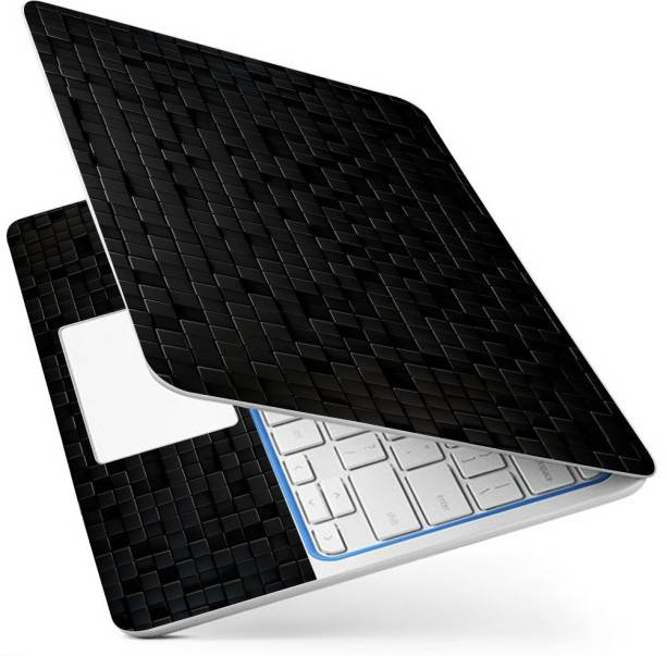 POINT ART HQ Laptop Skin Full Panel Decal Sticker Glossy Vinyl Fits Size Bubble Free – Black Colum Pattern Vinyl Laptop Decal 15.6