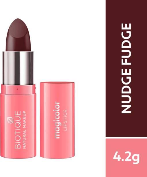 BIOTIQUE Magicolor Lipstick, Nudge Fudge