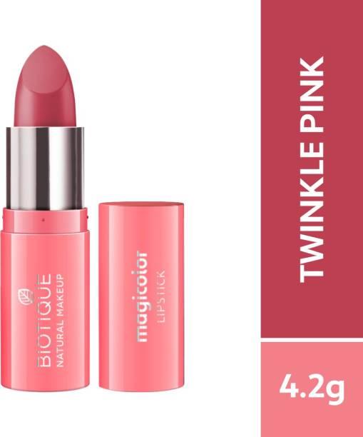 BIOTIQUE Magicolor Lipstick, Twinkle Pink
