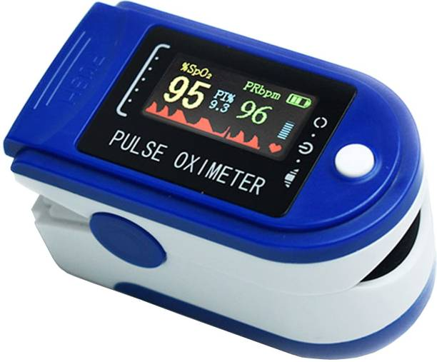 Peluche KitaNo Oximeter- Blood Oxygen Saturation Monitor with Pulse Monitor | 6 Months Warranty (Pack of 1) Pulse Oximeter