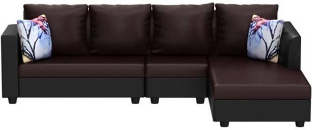 Flipkart Perfect Homes Leatherette 6 Seater  Sofa