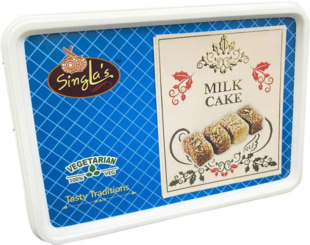 Singla Sweets Milk Cake Burfi 250g very Delicous Sweets Box Box