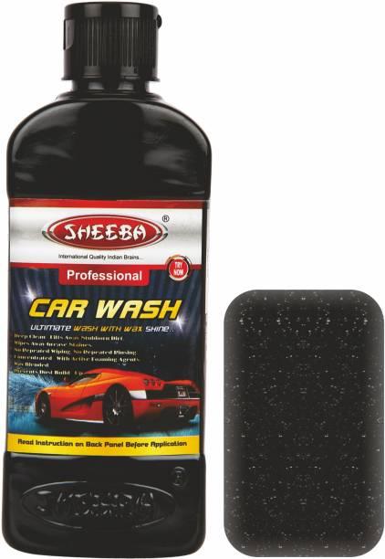 sheeba Concentrated Wash Shampoo Car Washing Liquid