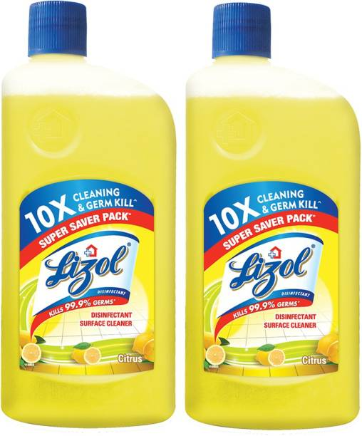 LIZOL Disinfectant Surface and Floor Cleaner Citrus