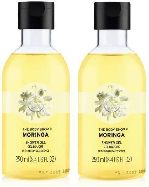 THE BODY SHOP Moringa Shower Gel Combo (250ML+250ML Pack Of Two)