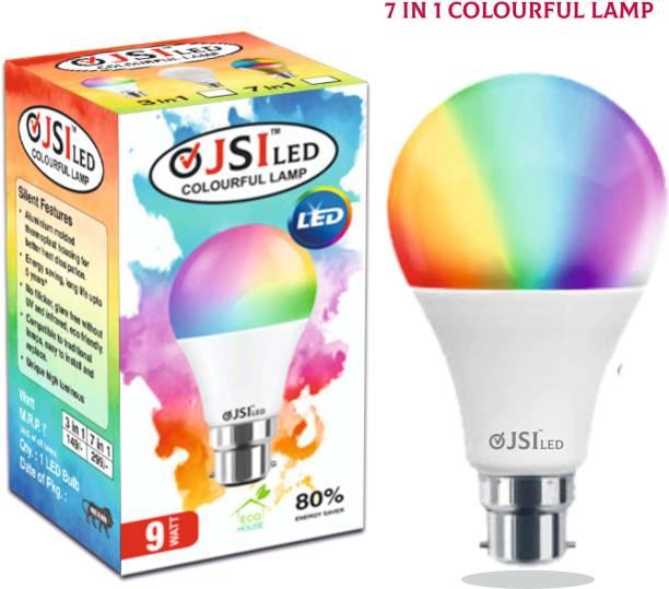 JSI 9 W Decorative B22 LED Bulb