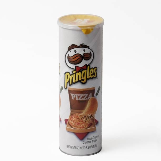 Pringles Potato Crisps, Pizza - 158g (5.5oz) Chips