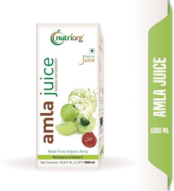 Nutriorg Amla Juice 1000 ml.