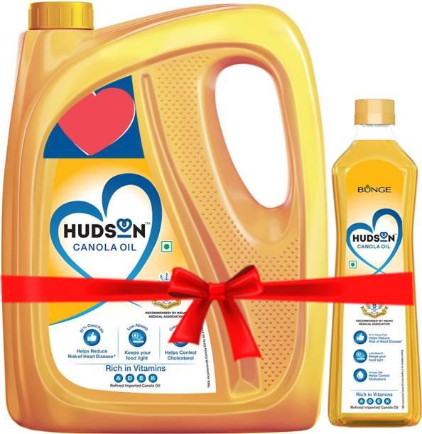 Hudson Rich in Vitamins Canola Oil Plastic Bottle