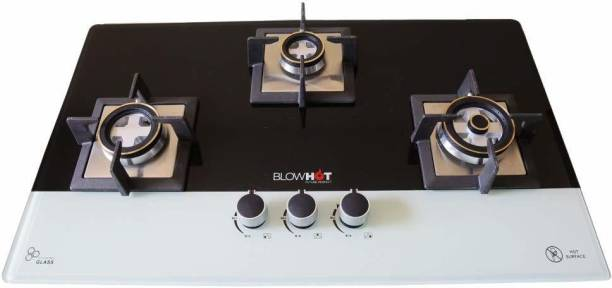 BlowHot Glass, Cast Iron Automatic Hob