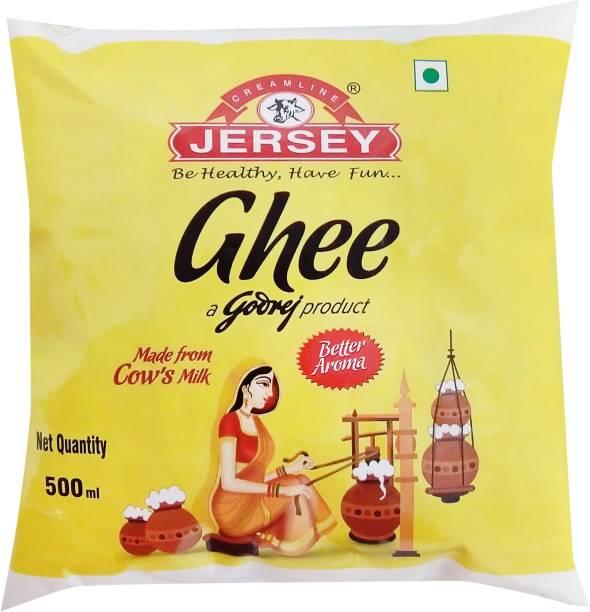 Godrej Jersey Pure Cow Ghee 500 ml Pouch