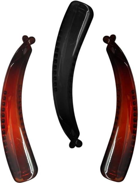New Arihant Traders Premium Quality Big Jumbo Size Banana Hair Clip -3 pieces) Banana Clip