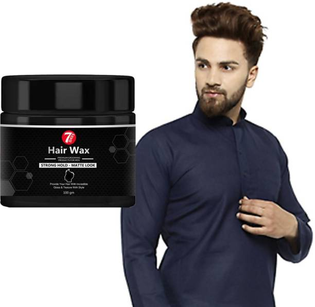7 Days hair wax spray Cream for men wet look Strong Hold Hair Wax - Wet Look - 100g -?Non-greasy wax, Easy-to-Wash, Strong & shiny wet Italian look without harmful chemicals or fixatives Hair Wax Hair Wax