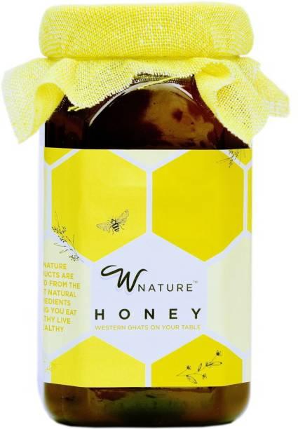 wnature Organic Wild Raw Honey 1KG-100% Pure & Natural