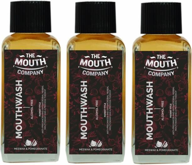 The Mouth Company Mouthwash Meswak Pomegranate - Meswak, Pomegranate