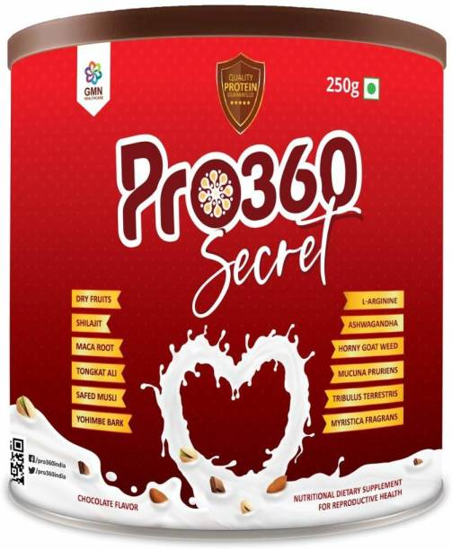 PRO360 Secret Nutritional Powder Enriched Herbs for Sexual Wellness Testosterone Booster Nutrition Drink