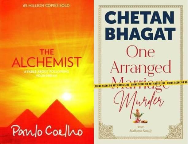 The Alchemist + One Arranged Marriage Murder (Set Of 2 Books) English Paperback