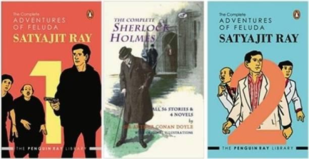 The Complete Sherlock Holmes, Adventures Of Feluda 1,2 Satyajit Ray