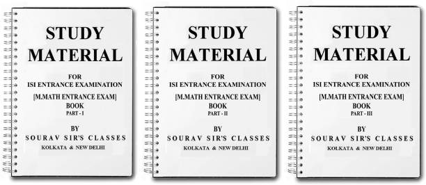 Study Material For Isi Entrance Examination M.Math Entrance Exam