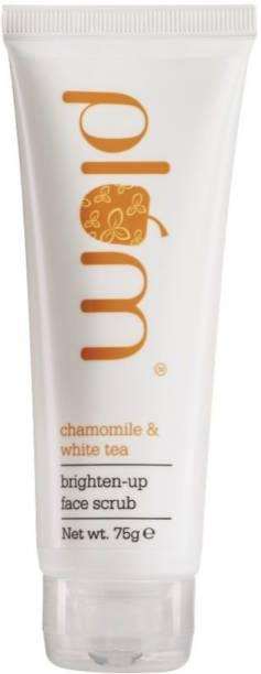 Plum Chamomile & White Tea Brighten-Up Face  Scrub