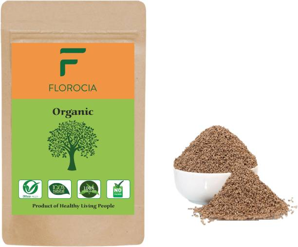 Florocia Organic 100% Natural Ajwain Seeds | Natural Quality Ajwain |Carom Seed / Omum / Oma / Oregano ( Grown Without Using Chemicals and Pesticides ) 500g