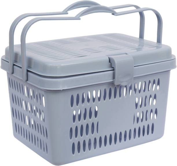 GALOOF Multi Utility Picnic Basket/Cloth Storage/Shopping Basket/Toy Storage Storage Basket Storage Basket