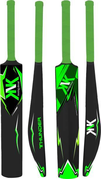 KNK Plastic Bat , Plastic Bat Full Size , Plastic Bat for Tennis Ball & Wind Ball PVC/Plastic Cricket  Bat
