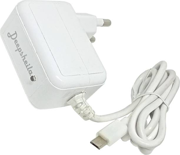 Deepsheila 2A. FAST CHARGER WITH 2A. 4 CORE V8 CHARGING CABLE 5 W 2 A Mobile Charger