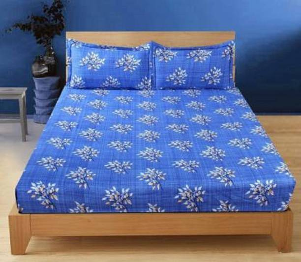 Decor Home 180 TC Microfiber Double, King Abstract Bedsheet