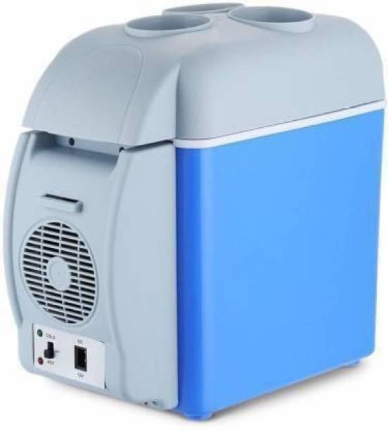"retold SE 98 6L Portable Car Refrigerator Electric Cooler and Warmer Car Refrigerator Portable Mini Fridge "" 7.5 L Car Refrigerator"
